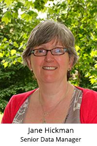 Jane Hickman – Senior Data Manager